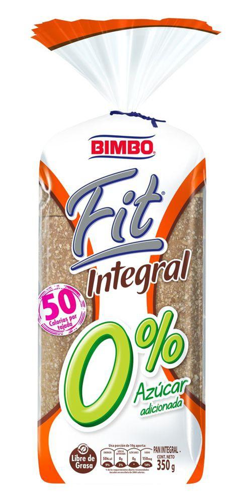 Pan Bimbo fit integral