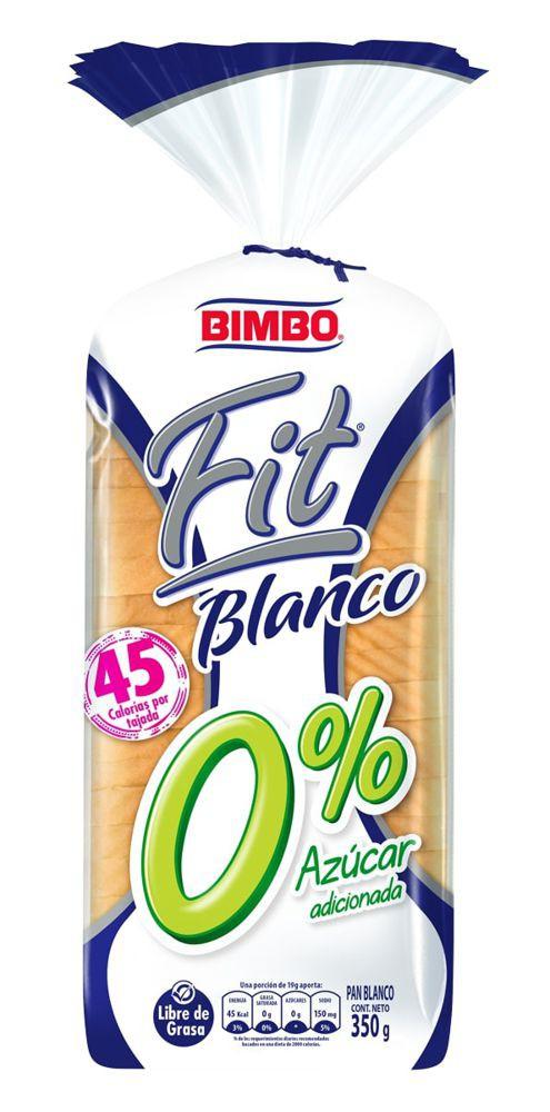 Pan Bimbo fit blanco
