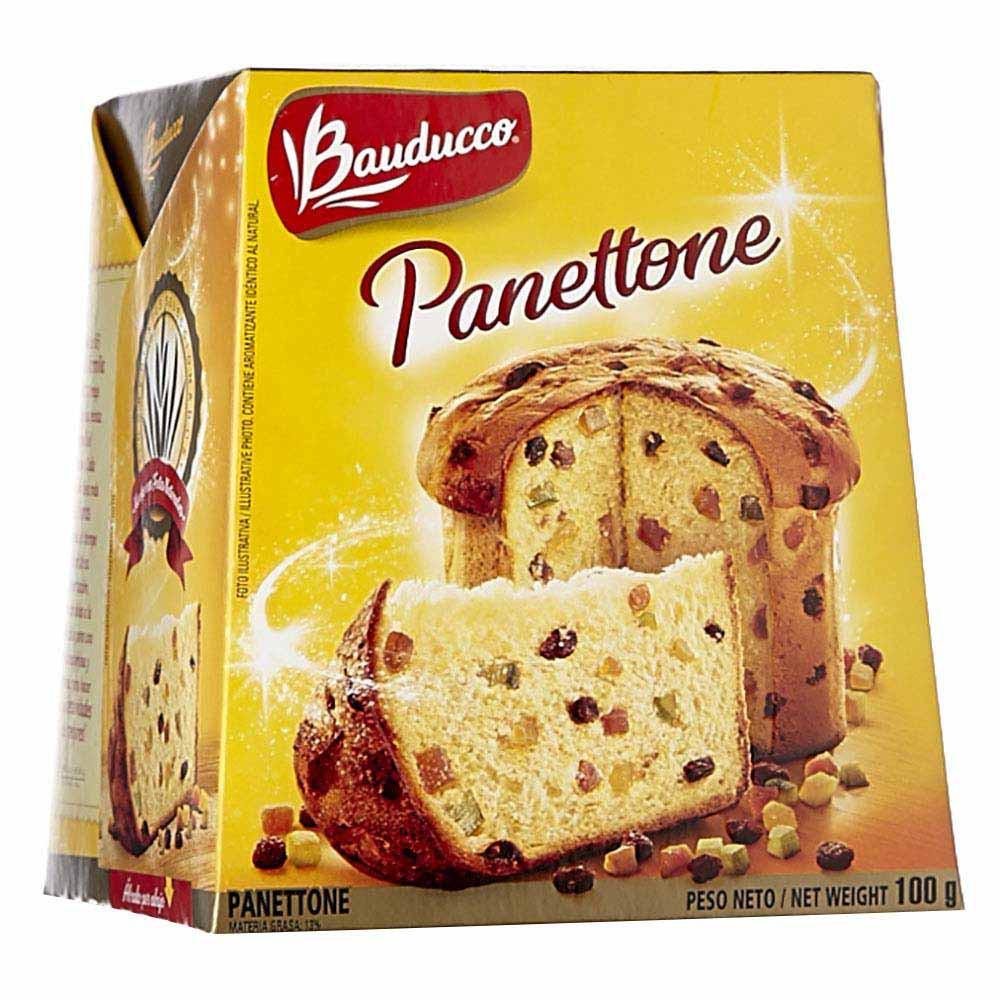 Panettone frutas Bauducco x100g