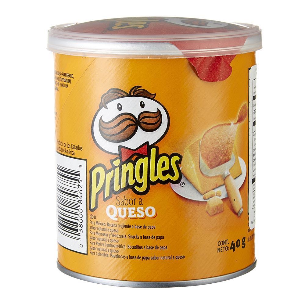 Papas Pringles Queso