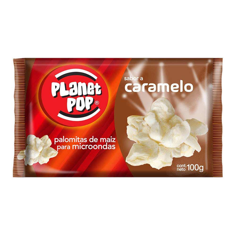 Palomitas de maíz Planet Pop sabor caramelo