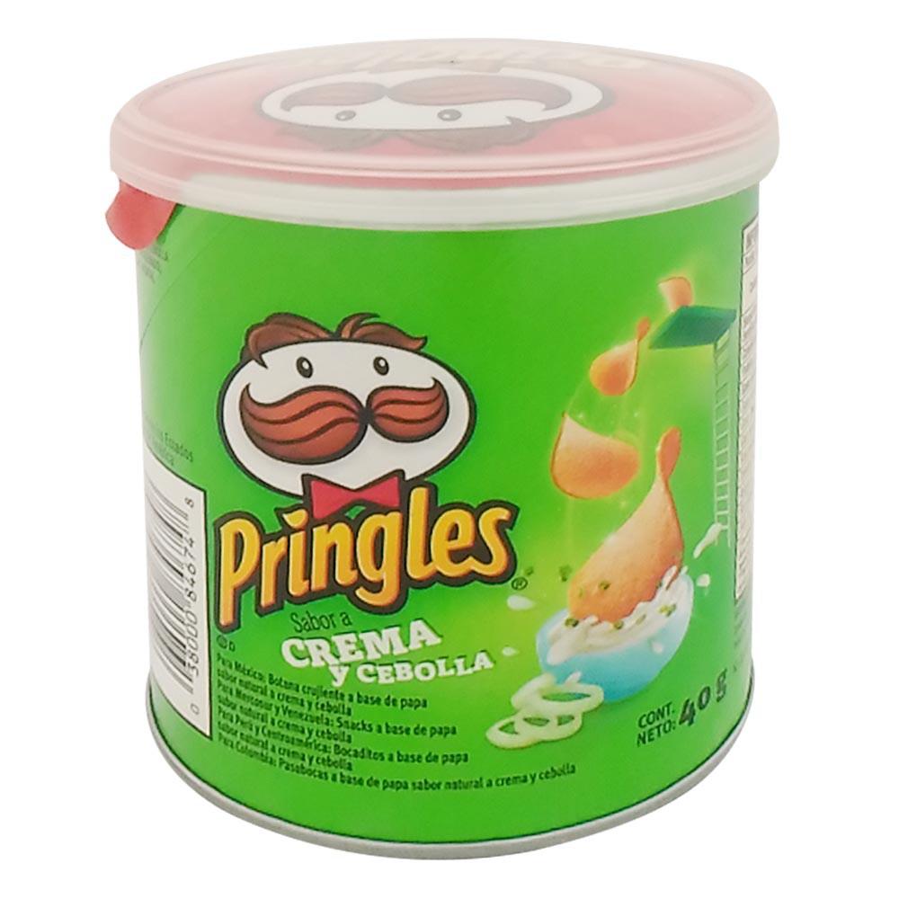 Papas Pringles Crema Y Cebolla