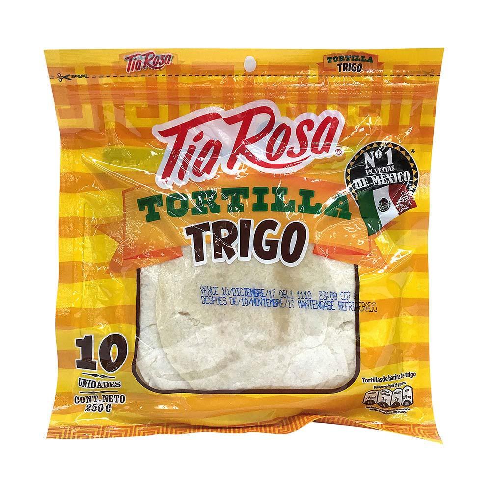 Tortilla Tía rosa trigo