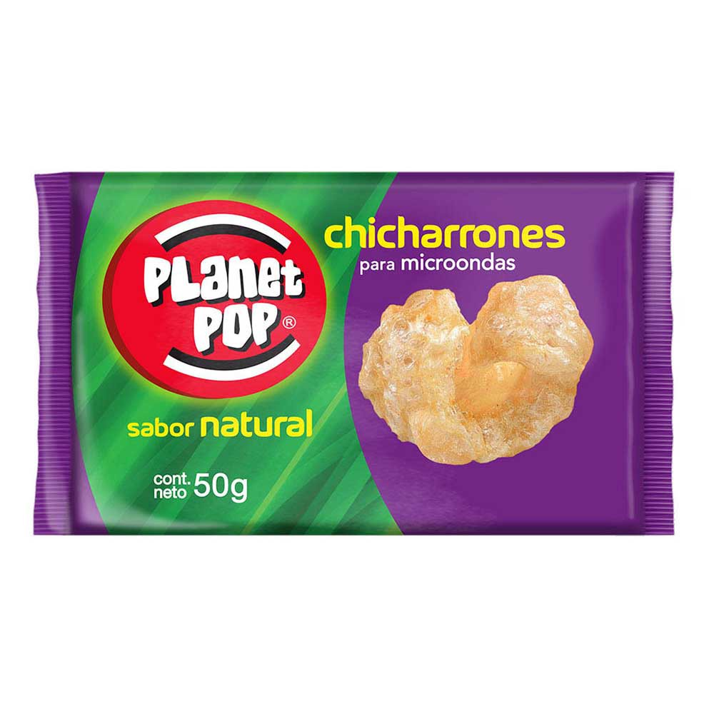 Chicharrón Planet Pop sabor natural