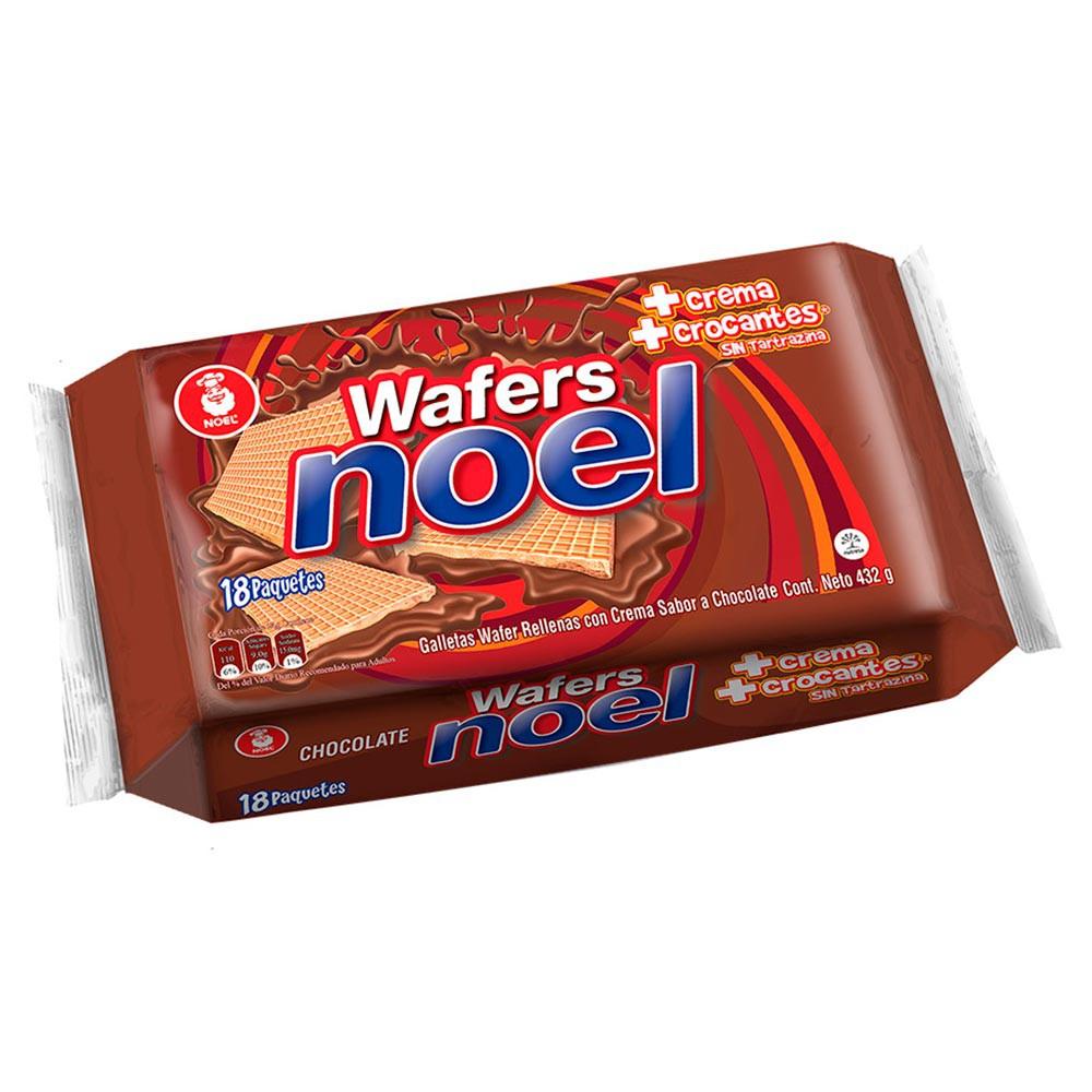 Galletas Chocolate Wafer Noel