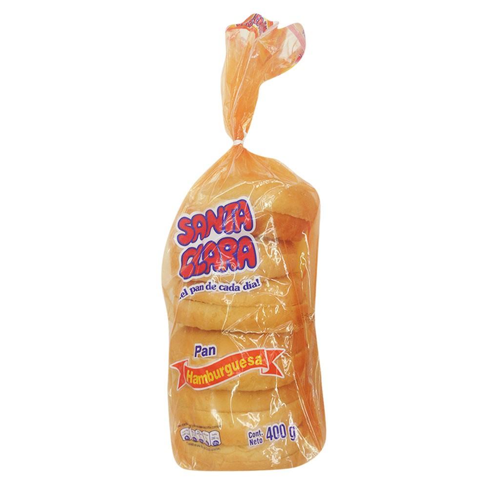 Pan para hamburguesa Santa Clara