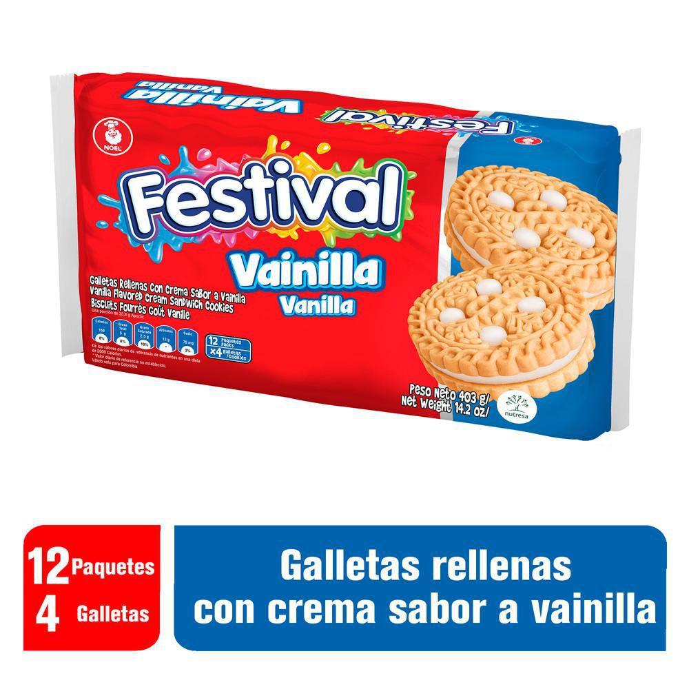 Galleta de Vainilla Festival