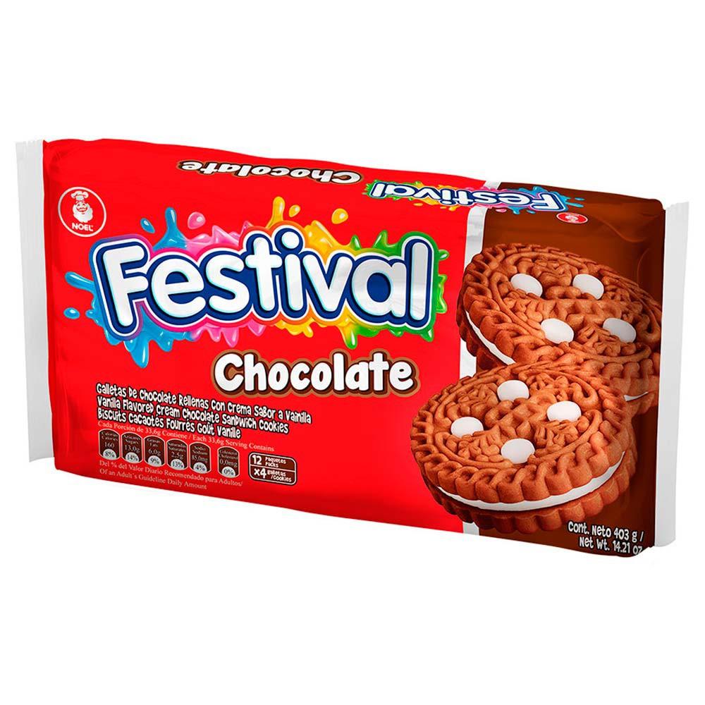Galleta de Chocolate Festival
