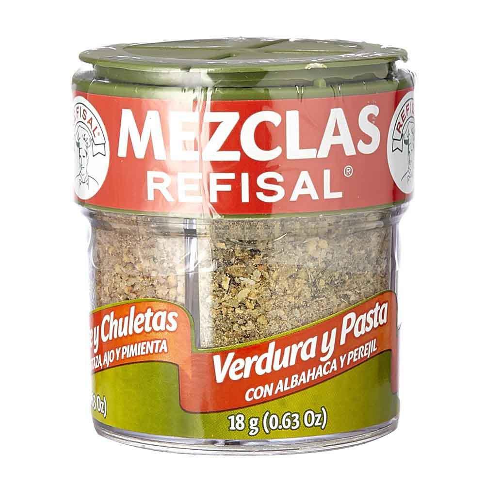 Mezcla Refisal cocina verde pimienta pollo