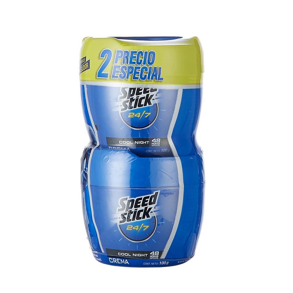 Desodorante Speed Stick 24/7 hombre 2unds x100 g
