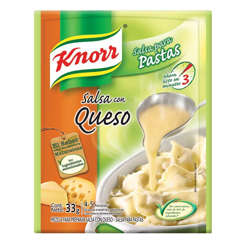 Salsa Queso Para Pastas Knorr 33 g