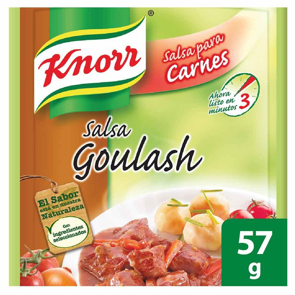 Salsa preparación goulash Knorr