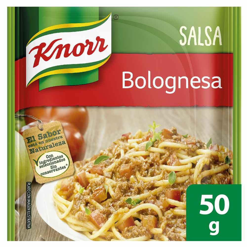 Mezcla de salsa boloñesa Knorr
