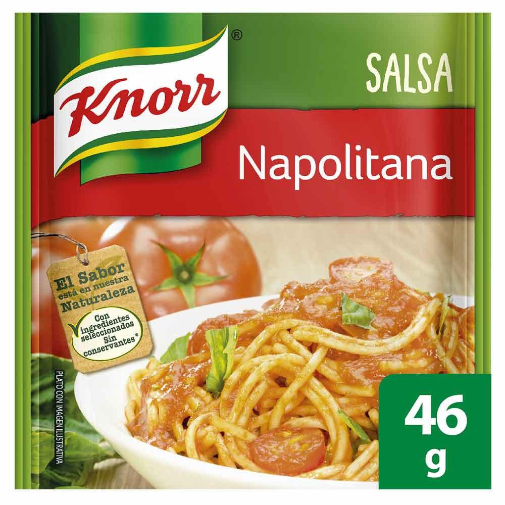 Mezcla de salsa napolitana Knorr
