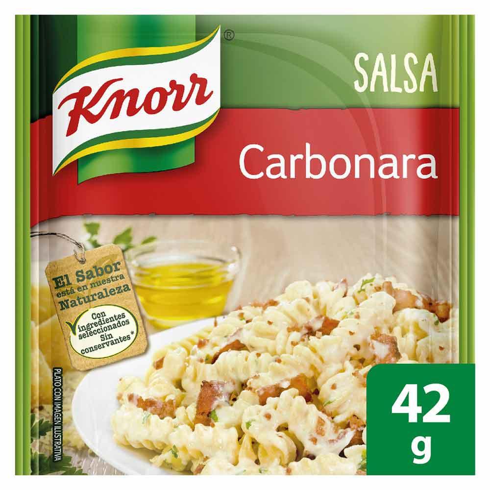 Mezcla de salsa carbonara Knorr
