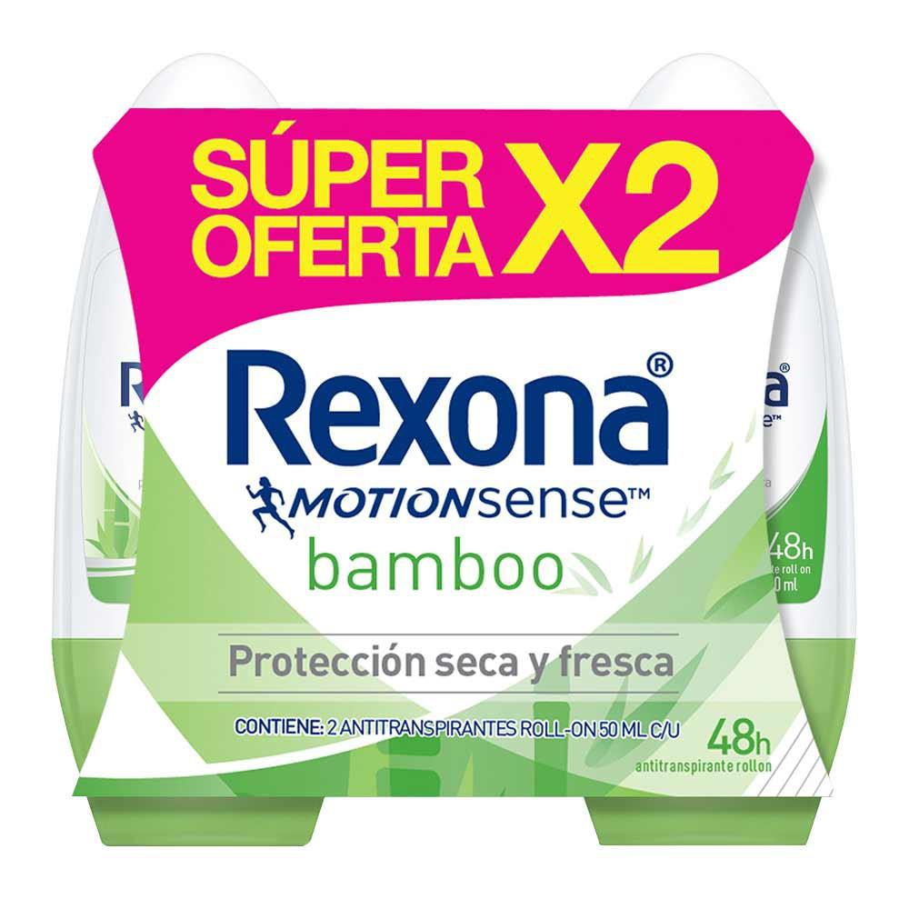 Desodorante Rexona bamboo women roll on