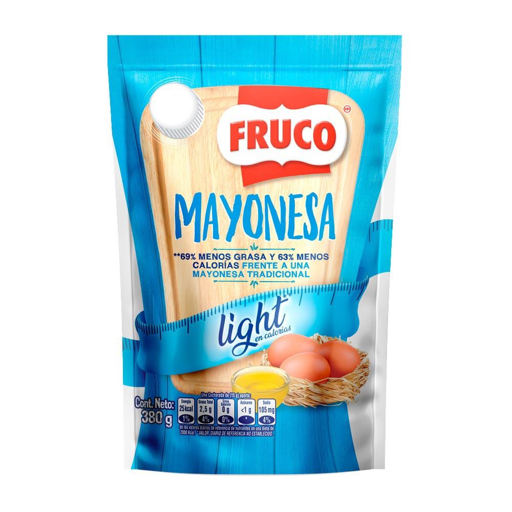 Mayonesa Fruco baja en grasa x 380g