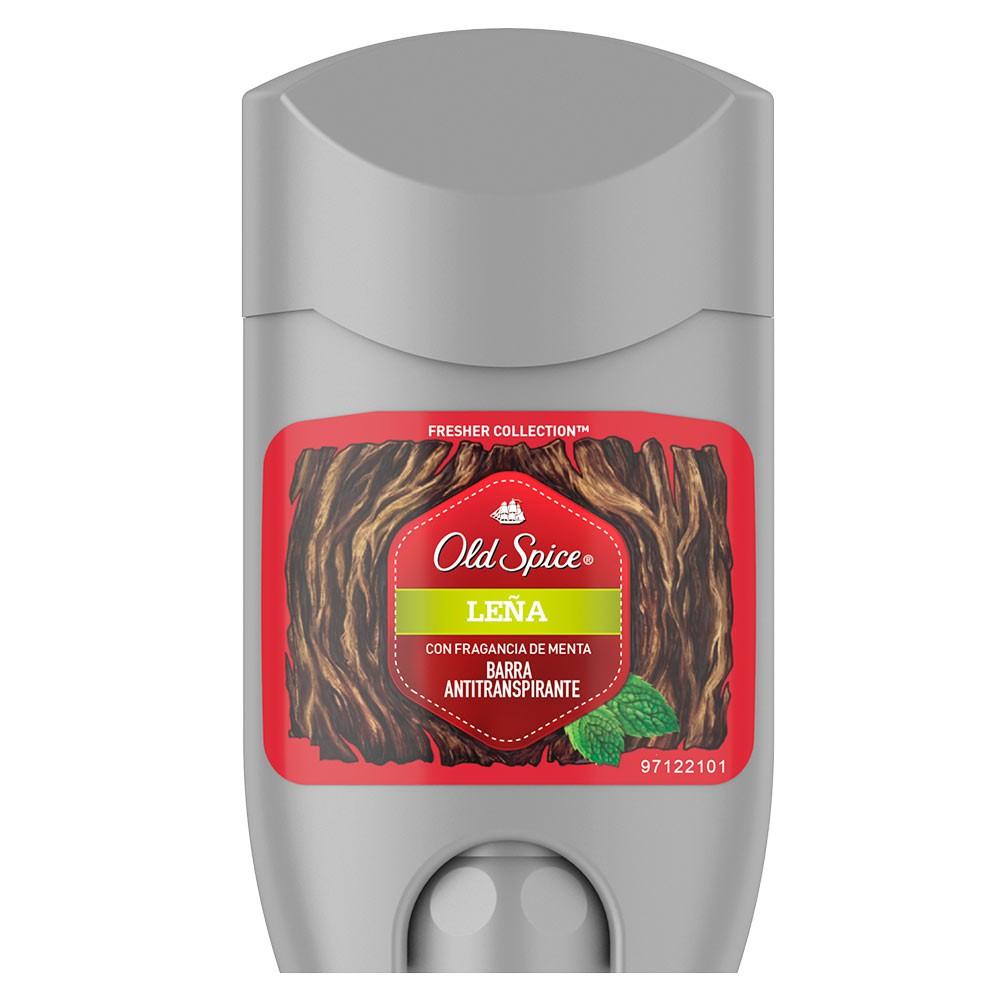 Old Spice Fresher Leña Barra Antitranspirante
