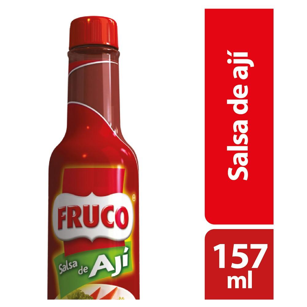 Salsa de ají Fruco