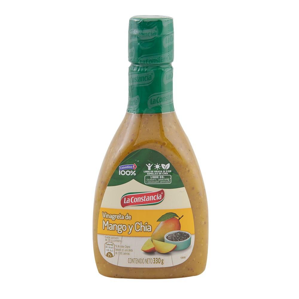 Salsa La Constancia vinagreta mango chía