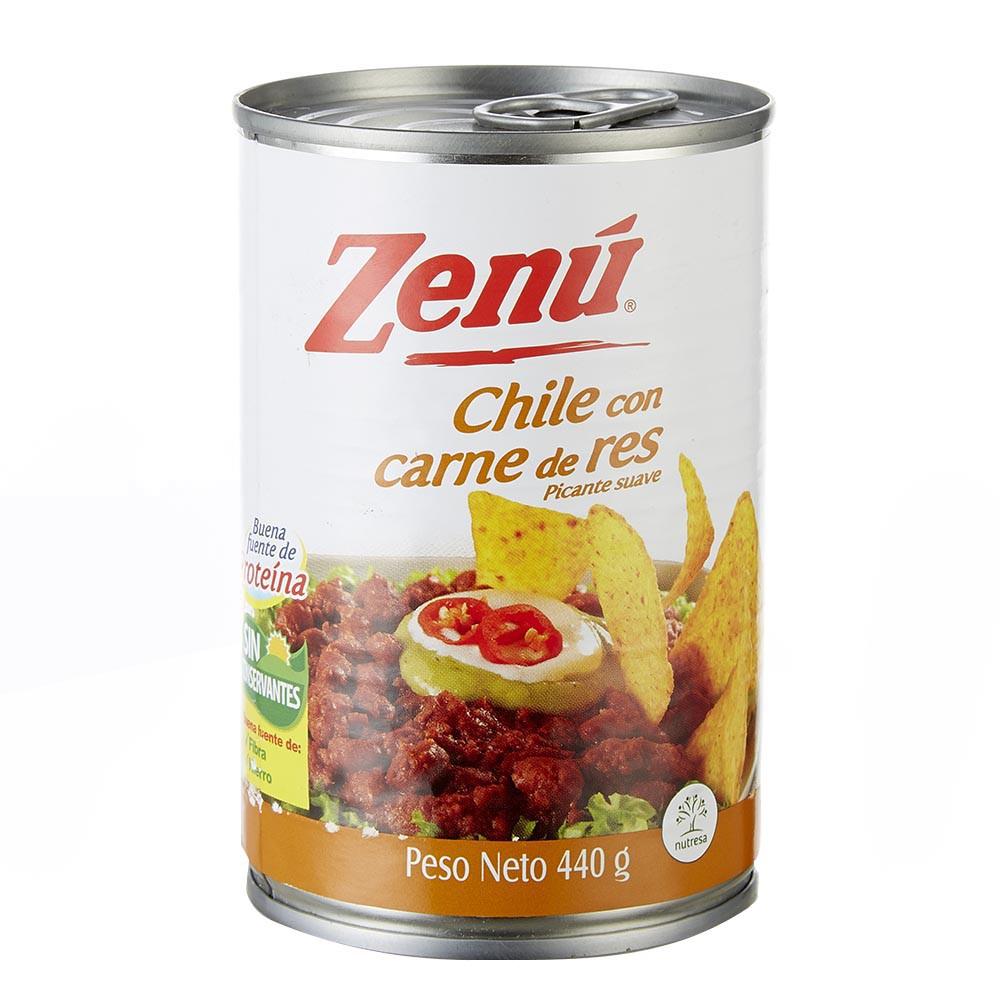 Chile con carne res Zenu