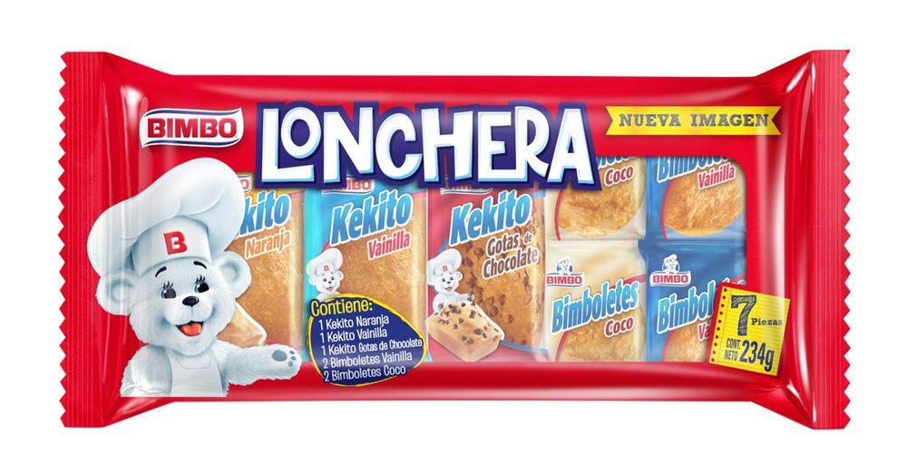 Lonchera Ponquecitos Bimbo 7 Und