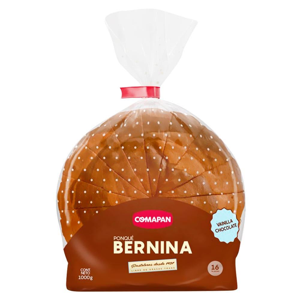 Ponque Comapan Bernina Chocolate