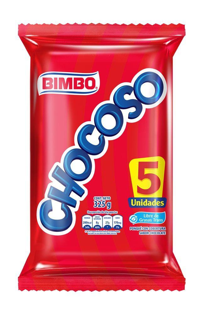 Ponque Chocoso cubierta chocolate
