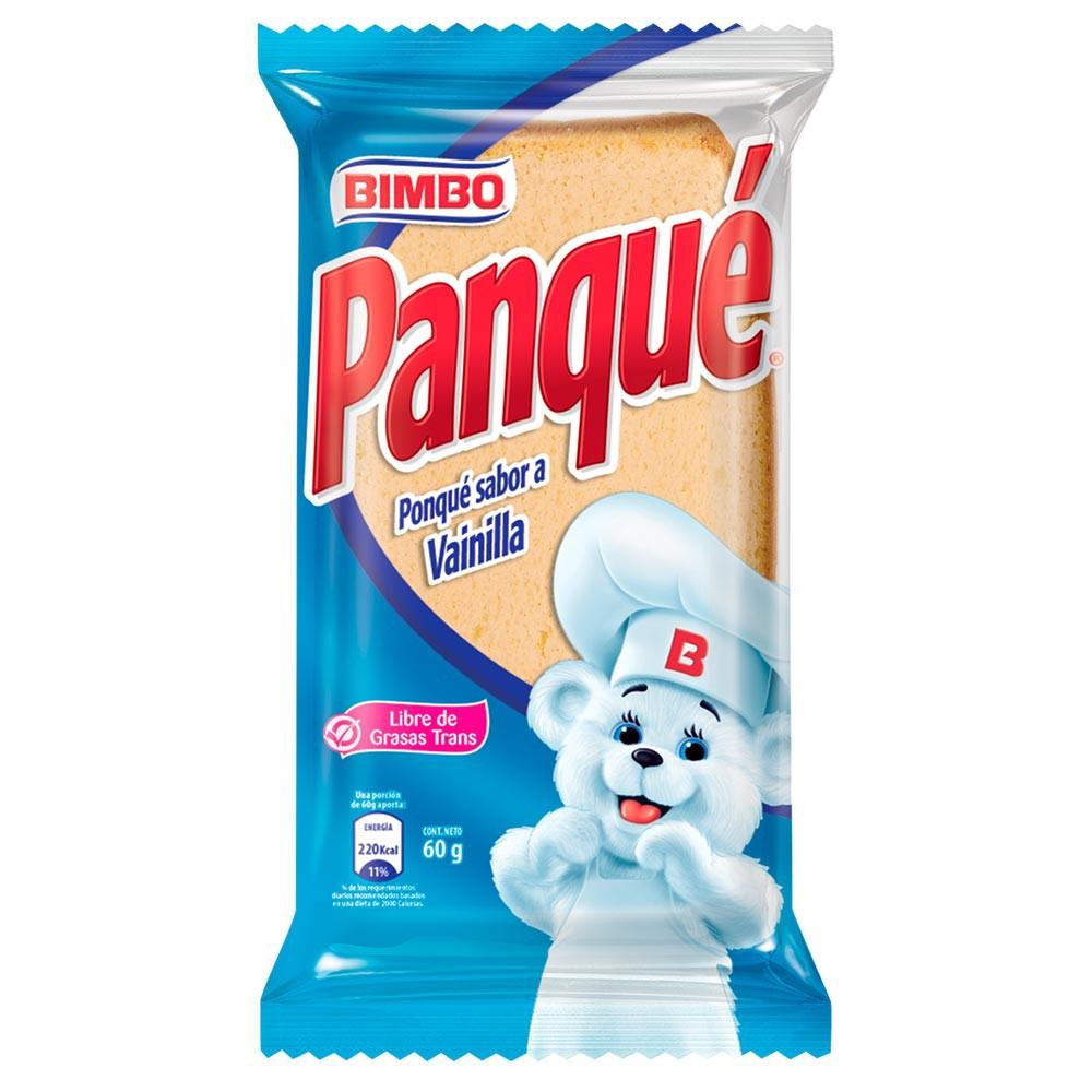 Panque Vainilla Bimbo