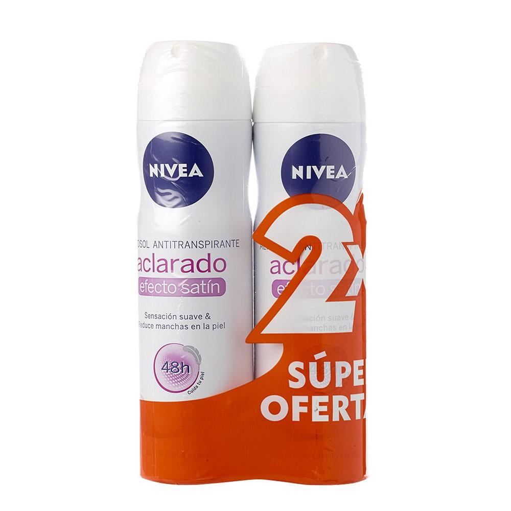 Antitranspirante aclarante satín Nivea aerosol