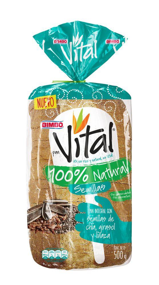Pan vital semillas