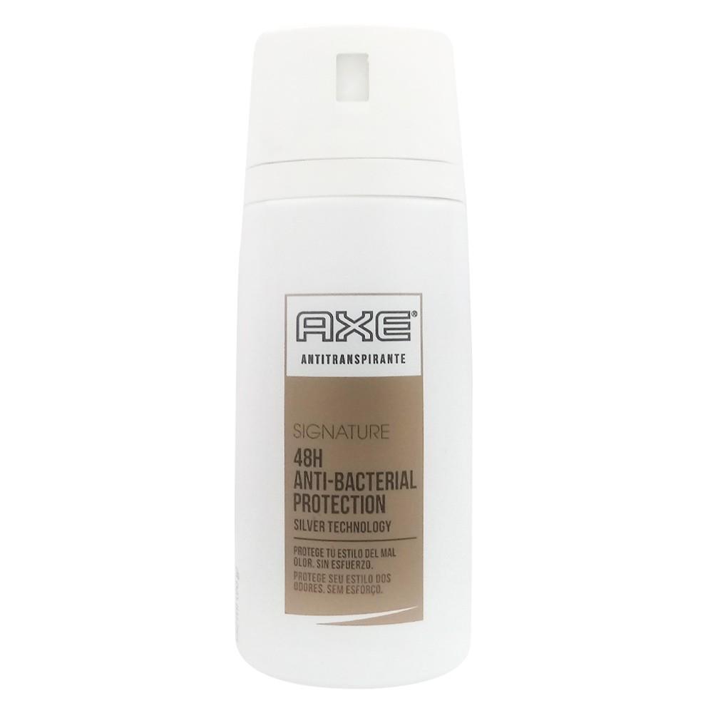 Antitranspirante Axe signature proteccion antibacterial aerosol x 152 ml