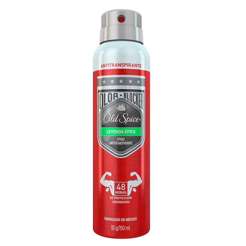 Old Spice Letherman Leyenda Épica Spray Antitranspirante