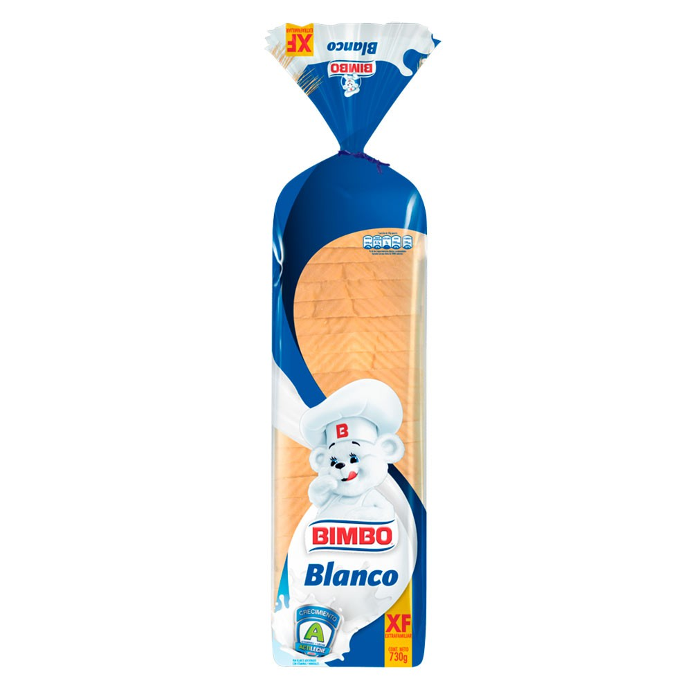 Pan Blanco Bimbo