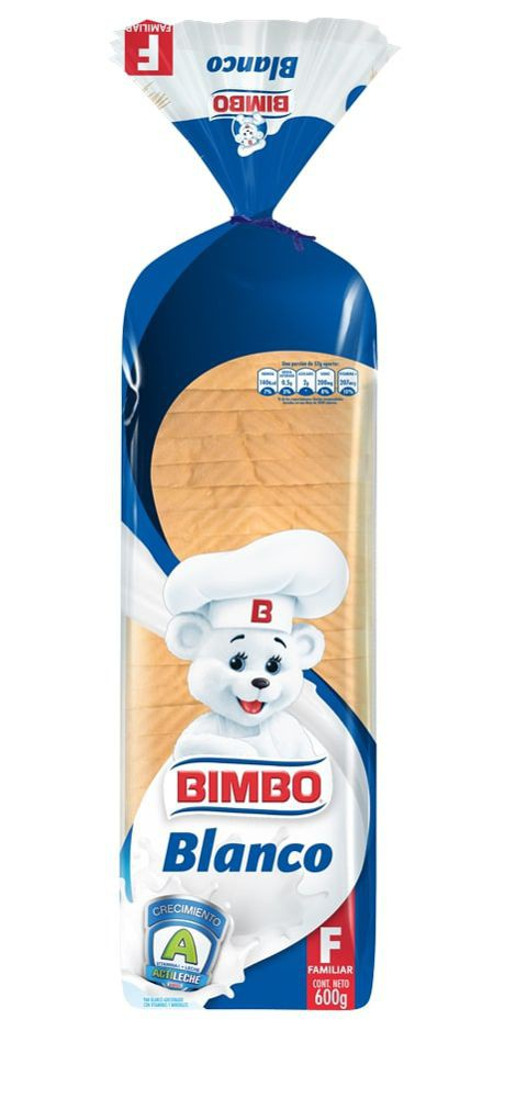 Pan Blanco Bimbo