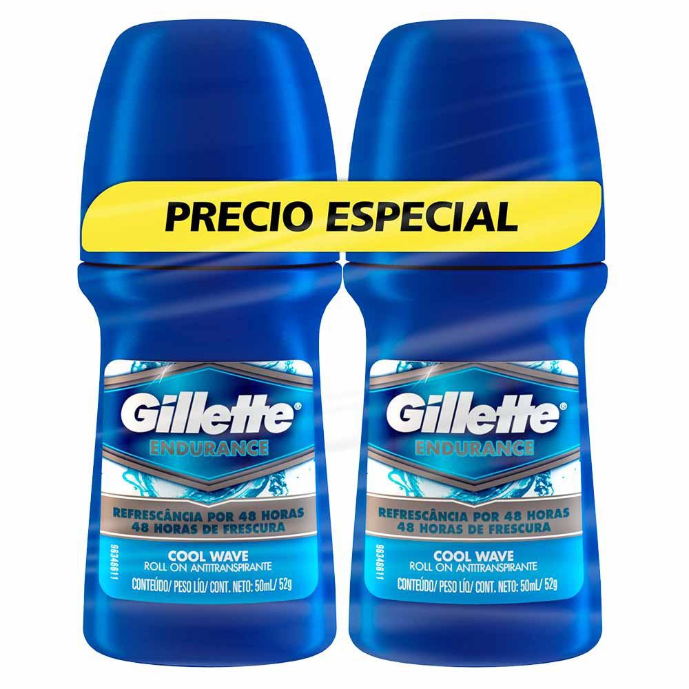 Antitranspirante Gillette Endurance Roll On