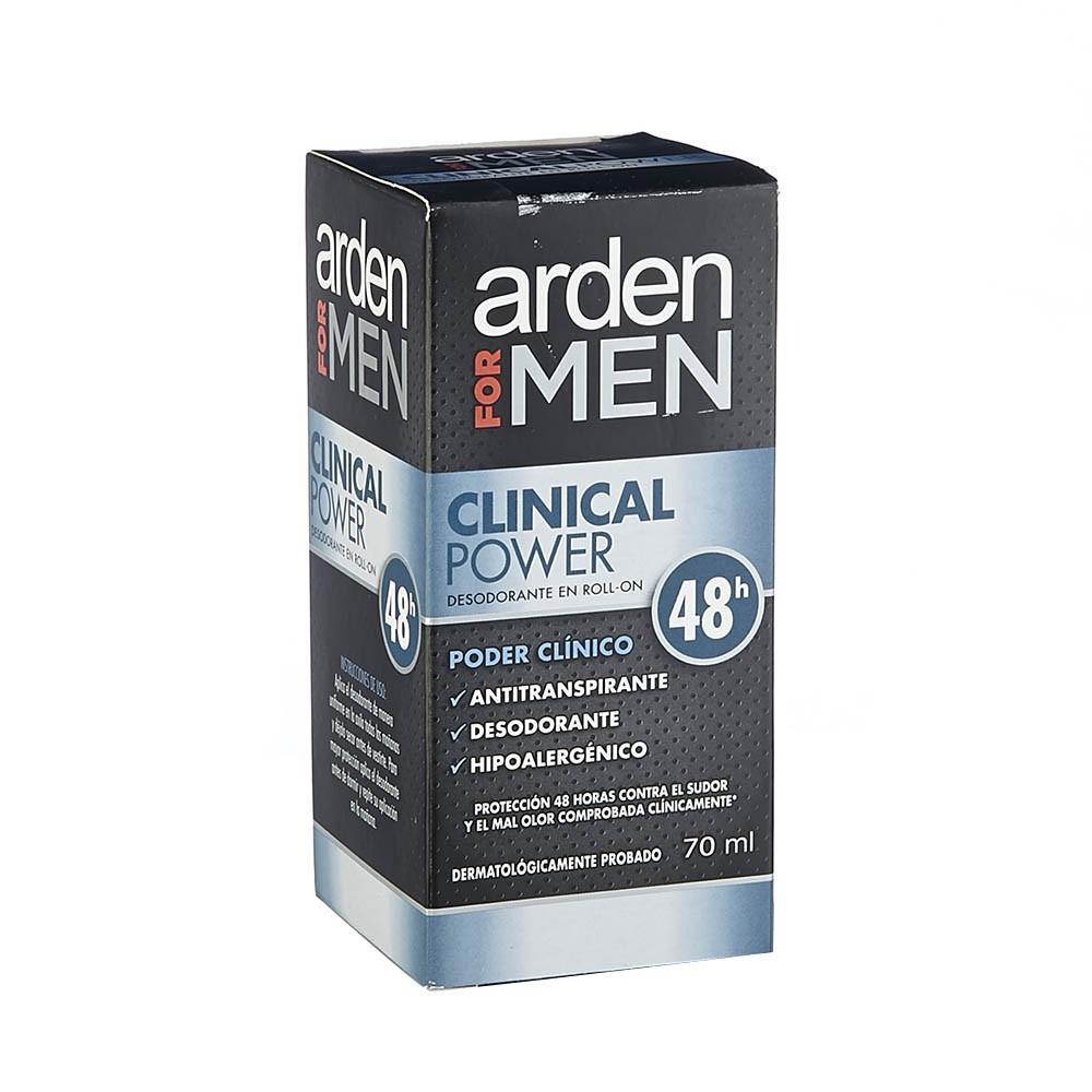 Desodorante Arden For Men clinical power