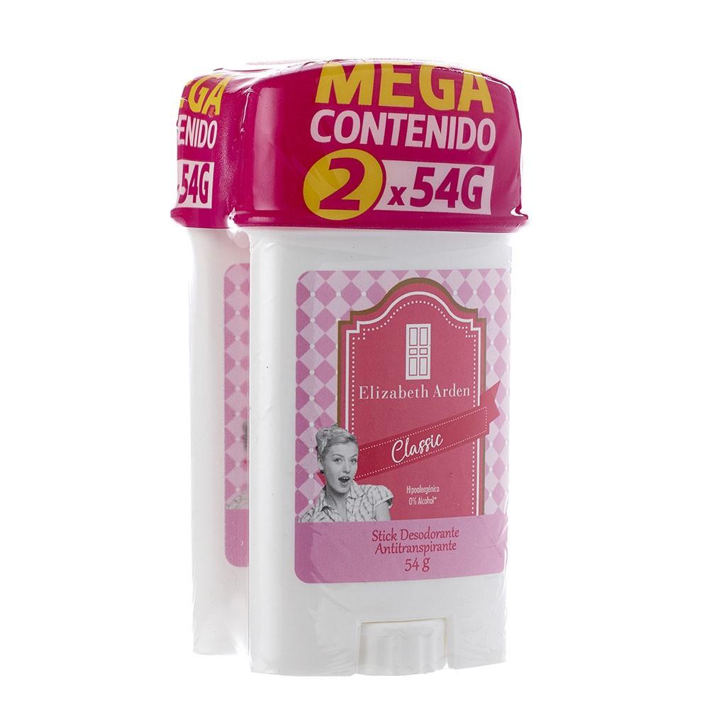 Desodorante Elizabeth Arden antitranspirante classic barra