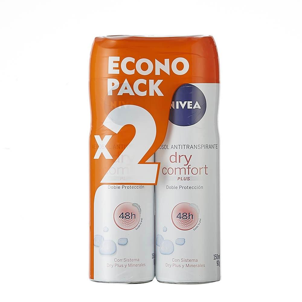 Desodorante aerosol Nivea dry comfort plus