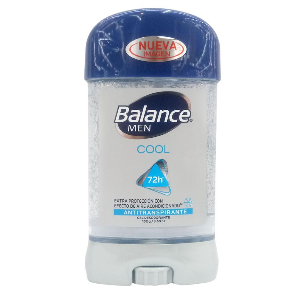 Desodorante Balance men antitranspirante cool gel 72h
