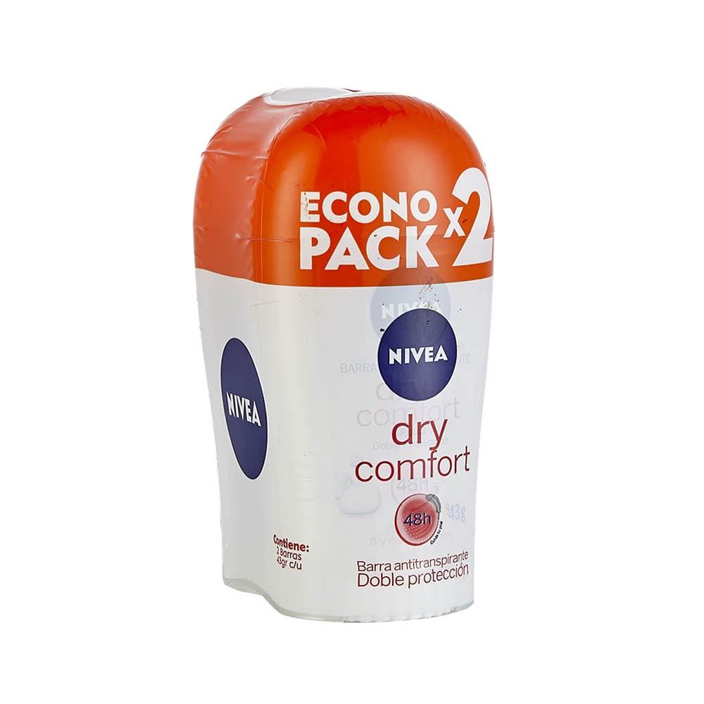 Desodorante en  barra Nivea dry comfort