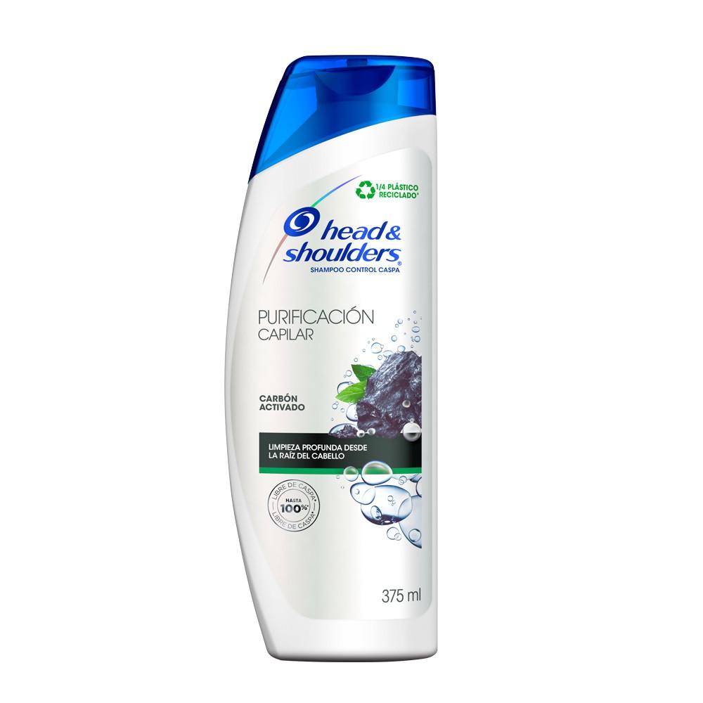 Shampoo Head&Shoulders control caida purificacion capilar.x375ml