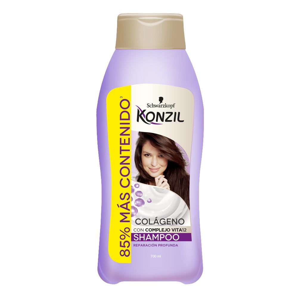 Shampoo Konzil colageno reparación profunda x 700ml