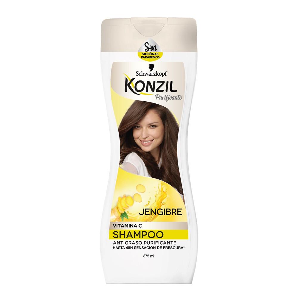 Shampoo Konzil purificante jengibre x 375ml