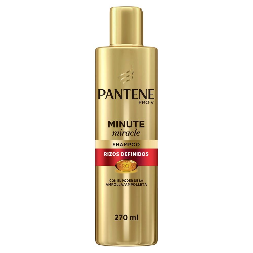 Shampoo Pantene rizos definidos