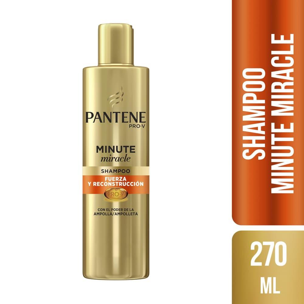 Shampoo minute miracle fuerza y reconstrucción
