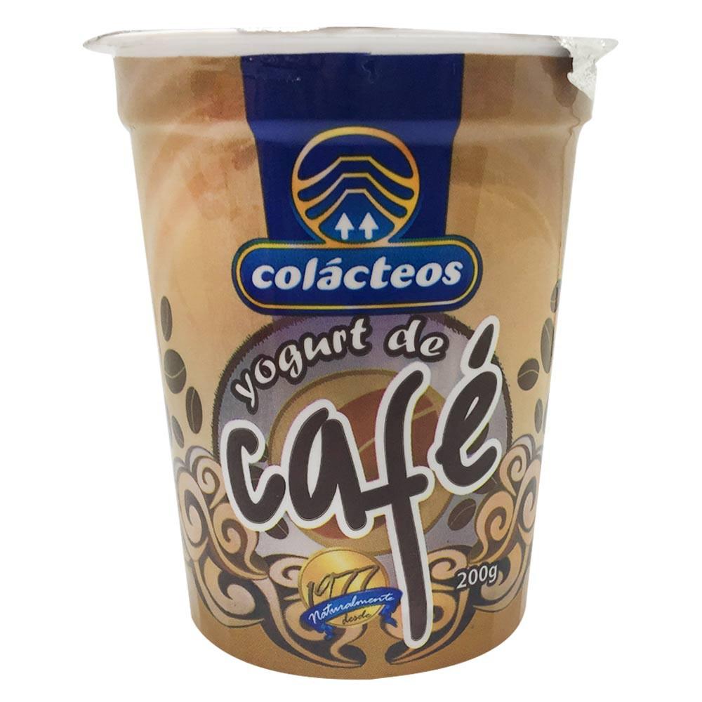 Yogurt vaso café Colacteos