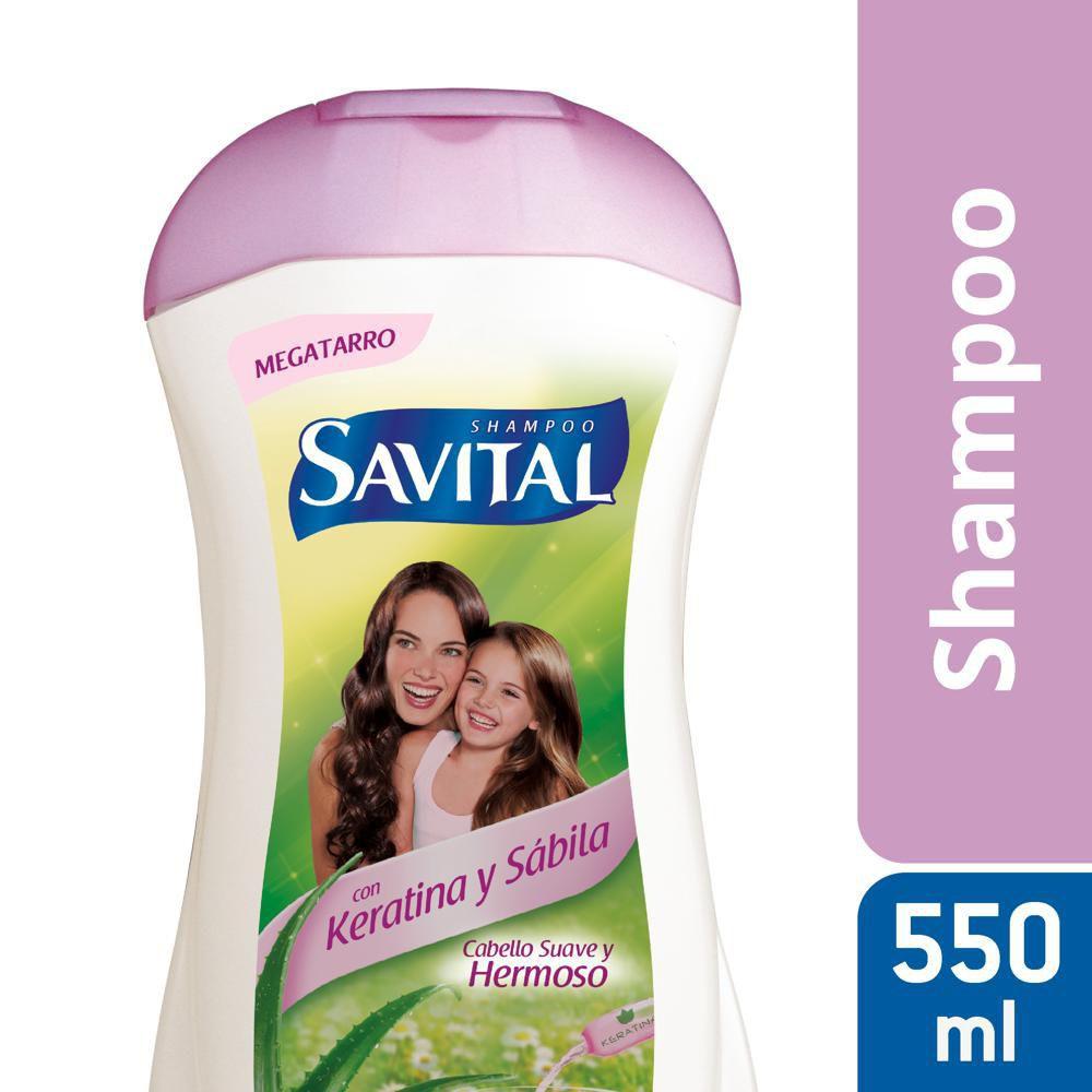Shampoo Savital keratina sábila