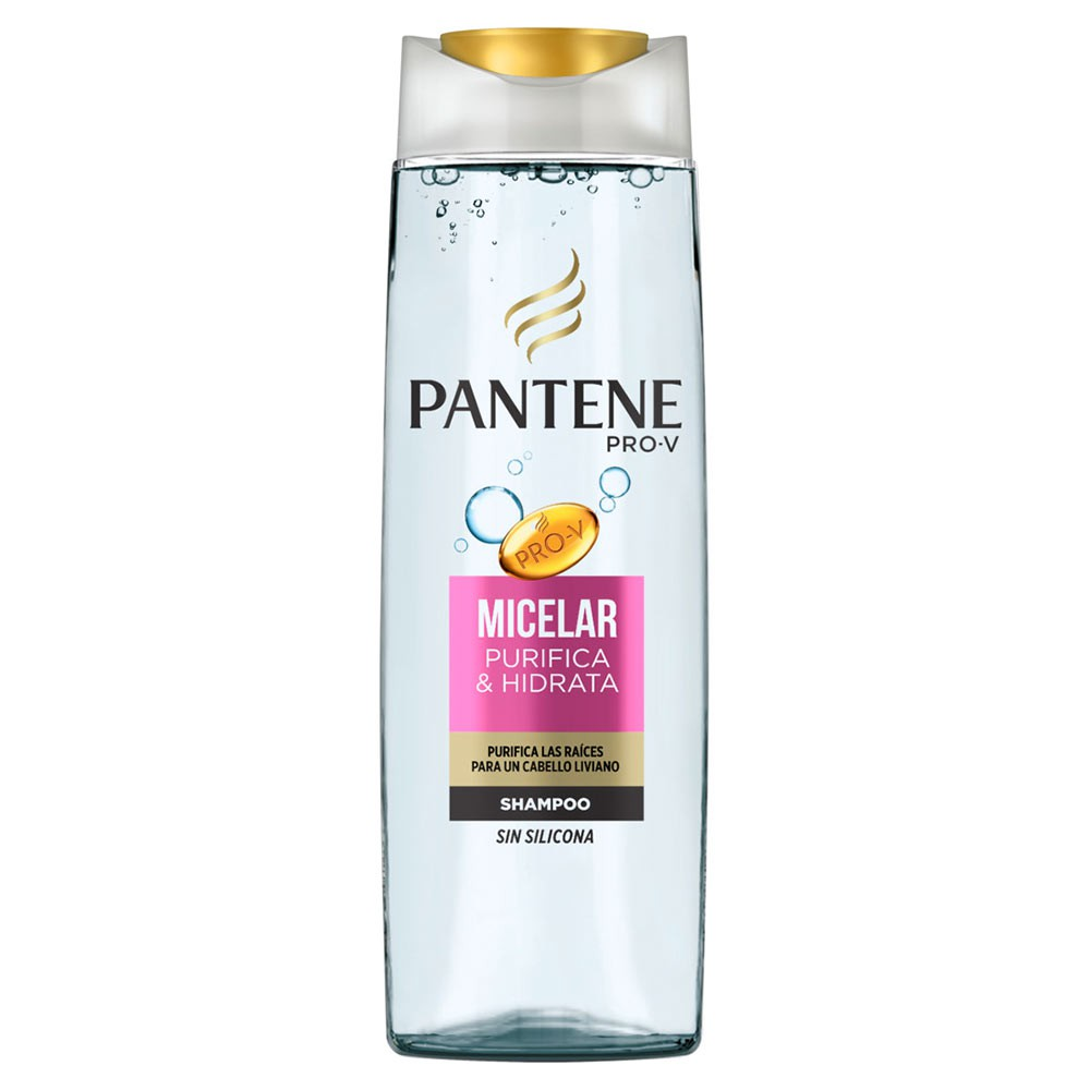 Shampoo Pantente Micelar Sin Silicona