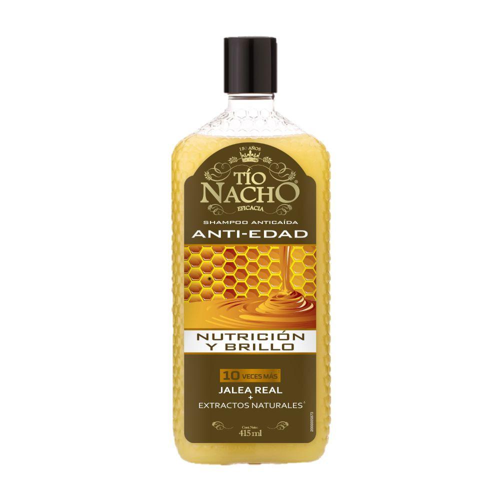 Shampoo capilar antiedad con jalea real